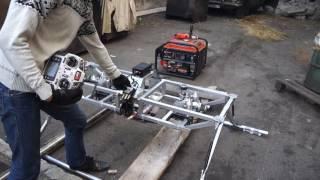 Стендовые испытания двигателей БПЛА