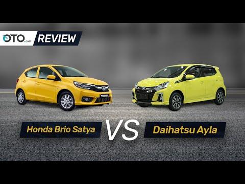 Honda Brio Satya vs Daihatsu Ayla | Review | Pilih Yang Mana? | OTO.com