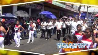 preview picture of video 'RESUMEN Desfile Alegórico Coatepeque 2015'