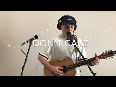 Ed Sheeran & Justin Bieber - I Don't Care (Live Acoustic Loop Cover)