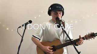 Ed Sheeran & Justin Bieber   I Don't Care (Live Acoustic Loop Cover)