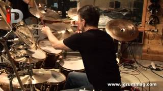 Simon Phillips & Gavin Harrison Drum Center Performance Two | iDrum Magazine Archives