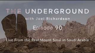 Live from the Real Mount Sinai in Saudi Arabia...