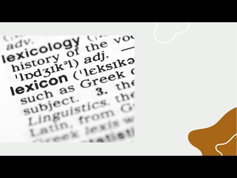 How to use the Hebrew lexicon