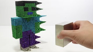 Monster Magnets Vs Zombie Minecraft   Make Zombie With Magnetic Balls
