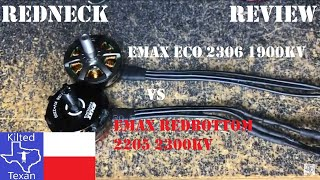 Redneck Review - EMAX ECO 2306 1900kv from фото