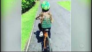 Luciano Huck Ensina A Filha A Andar De Bicicleta Em Viagem Pela Europa