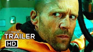 THE MEG Official Trailer (2018) Jason Statham Shark Horror Movie HD