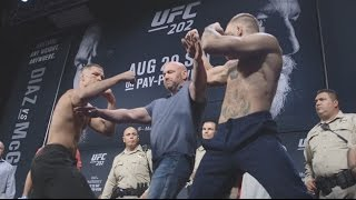 Exclusive Interactive 360° Experience: Diaz vs McGregor Faceoff - UFC 202 Weigh-In