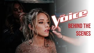 Emily Ann Roberts   The Voice (Behind The Scenes)