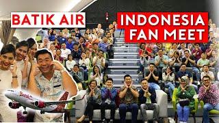 Batik Air Business Class to Indonesia + Jakarta Fan Meeting