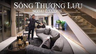 Sống thượng lưu tại biệt thự hiện đại ngoại ô Sài Gòn -...