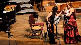 Marina Thibeault's Quebec concertos + a lullaby with special guest Lucien