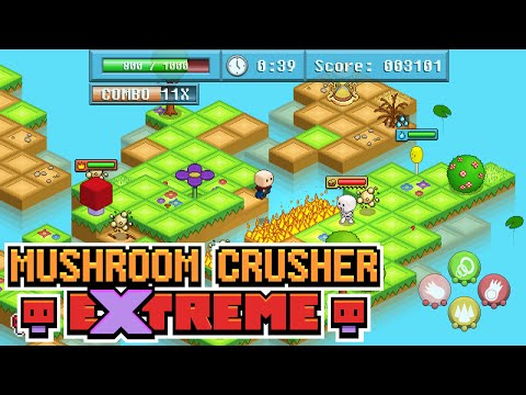 Mushroom Crusher Extreme - Early Access Trailer [Isometric Arcade-Action for Win, Mac and Linux] thumbnail
