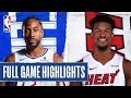 CLIPPERS at HEAT   FULL GAME HIGHLIGHTS   January 24, 2020