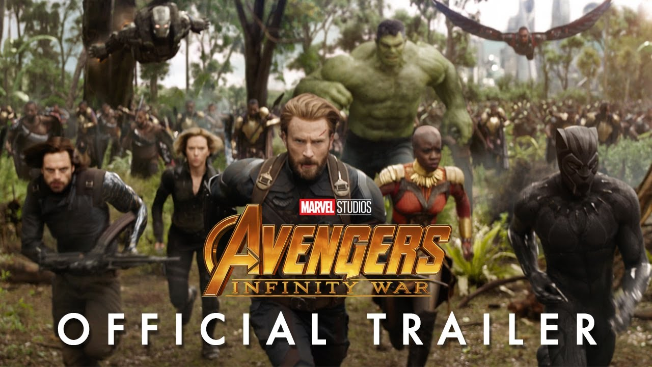 Movie Trailer:  Avengers: Infinity War (2018)
