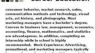 How to Become an Advertising, Promotions, or Marketing Manager - Career Education