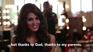 Jimena Espinoza Vecco Peru Miss Universe 2014 Official Interview