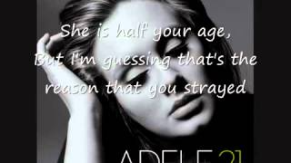 Adele - Rumour Has It (Lyrics) FULL SONG