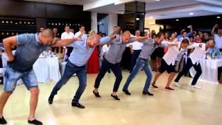 Wedding Cvety and Stefan - Vratsa - Bulgaria 8.08.2015 ( Male shopski dance)
