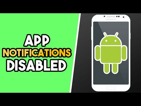 How to Turn off App Notifications on Android (EASY!)