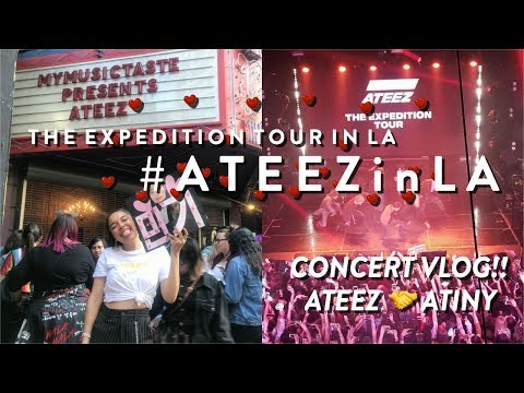 180315 ATEEZ (에이티즈) THE EXPEDITION TOUR In LA (mingi Pls Love Me)!! ♫