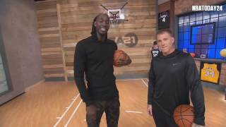 Area 21: Jason Williams Shows Kevin Garnett How to Do The Elbow Pass | 2.2.17 |
