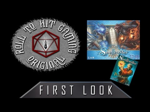 Roll to Hit Gaming - First Look: Spellcaster