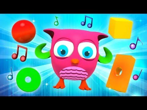 Зарядка под музыку с совенком Хоп Хоп. Мультик песня для детей