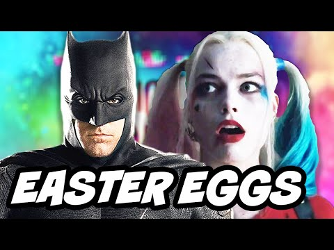 Suicide Squad TOP 20 Easter Eggs