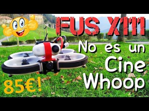 FUS X111: NO ES UN CINEWHOOP, ES UN TINYWHOOP GRANDE Y DIVERTIDO