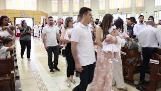 Canto de Entrada - Solenidade de Jesus Cristo, Rei do Universo (Batizados) (25.11.2018)