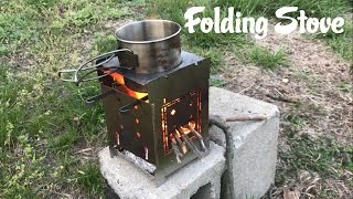 The Best Folding Stove? (Firebox Stove)
