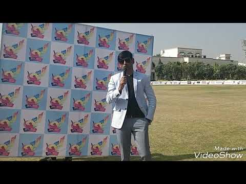Hosting A cricket tournament(Sports)