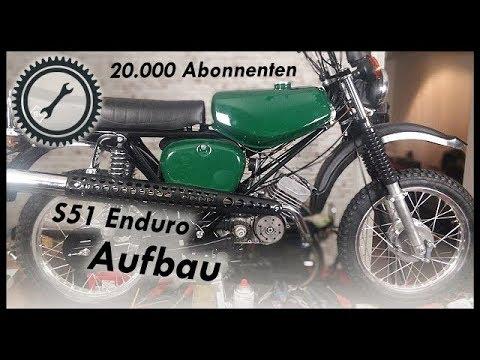 S51 Enduro Schnellaufbau - 20.000 Abonnenten Gewinnspiel #2