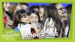 Mariam Mamadashvili - Mzeo (Georgia) LIVE Junior Eurovision 2016