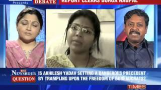 The Newshour  Debate: Stubborn Akhilesh deaf to concerns? - Part 1