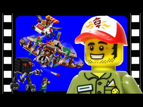 Vidéo LEGO The LEGO Movie 70812 : L'embuscade créative