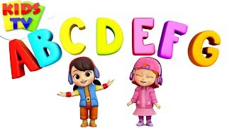 ABC Song   Boom Buddies Cartoons   Kindergarten Songs   Learning Videos For Children by Kids Tv