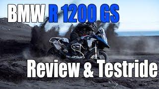 BMW R 1200 GS Rallye Review & Testride!