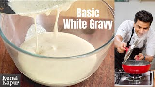 White Curry, Boiled Onion Curry, White Gravy वाइट करी Kunal Kapur Basic Indian Curry Recipes Cooking