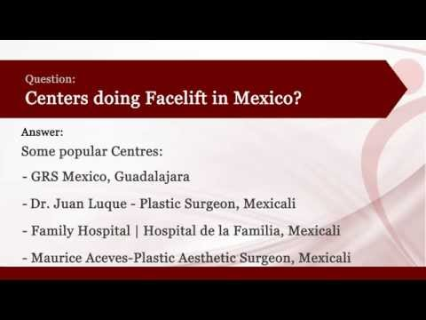 Face lift in Mexico l Cost of Face lift in Mexico