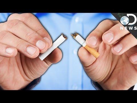 Prezentacja na modę lub nawyku palenia