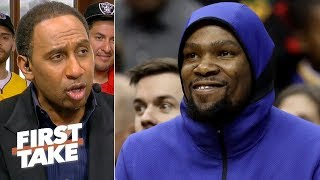 'Hell yeah' the Warriors should still be confident after Game 3 loss – Stephen A.   First Take