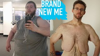 550lbs Man Loses A Colossal 340lbs | BRAND NEW ME