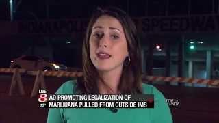MPP Marijuana NASCAR Ad in the News