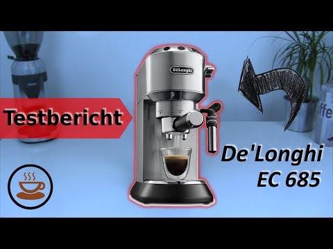 ☕ De'Longhi EC 685.M Espressomaschine im Test - Die perfekte Einsteigermaschine?