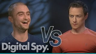 Daniel Radcliffe Vs James McAvoy - Who Knows The Other The Best?