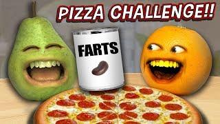 Annoying Orange - The Pizza Challenge 🍕