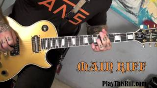 "Every Time I Die - Learn To Play ""Wanderlust"""